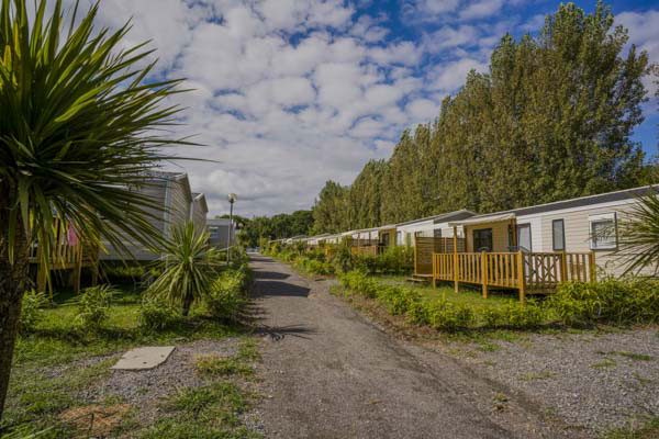 camping pays basque location mobil home