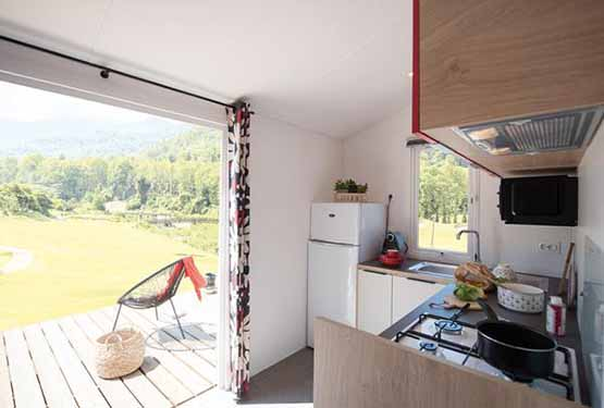 achat mobil home pays basque